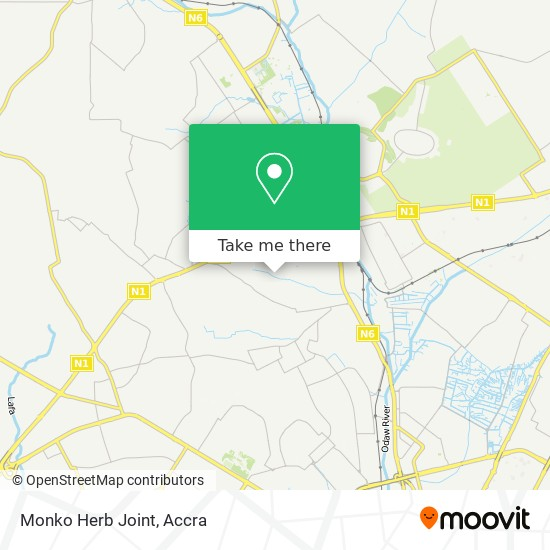 Monko Herb Joint map