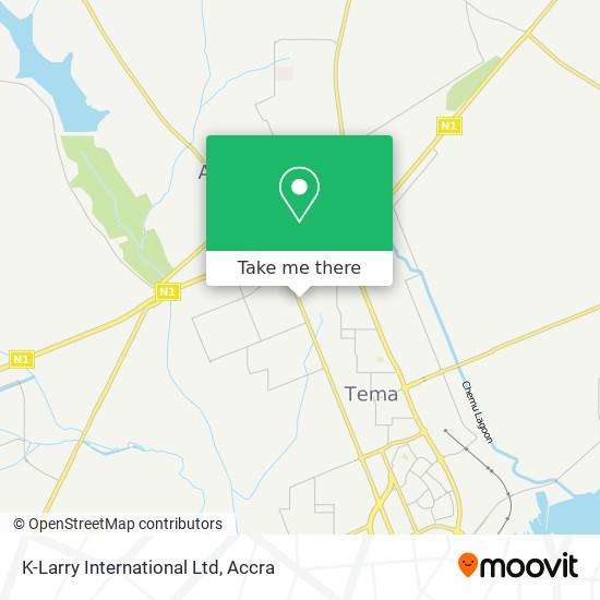 K-Larry International Ltd map