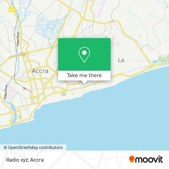 Radio xyz map