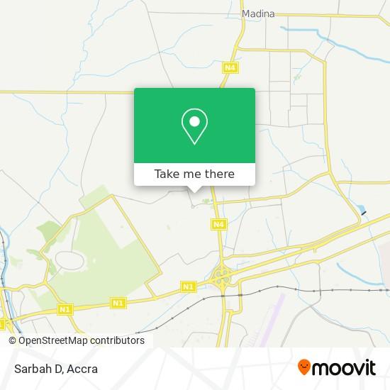 Sarbah D map