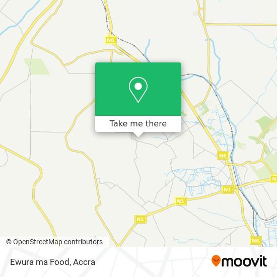 Ewura ma Food map
