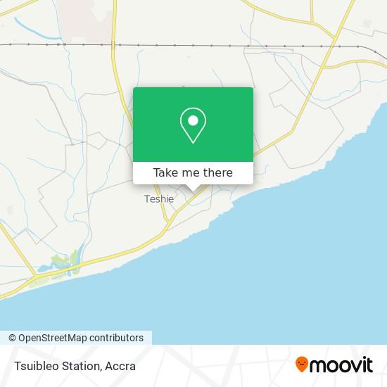 Tsuibleo Station map