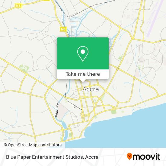 Blue Paper Entertainment Studios map