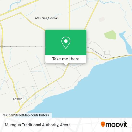 Mumgua Traditional Authority map