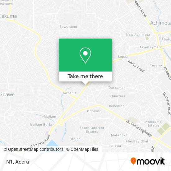 N1 map