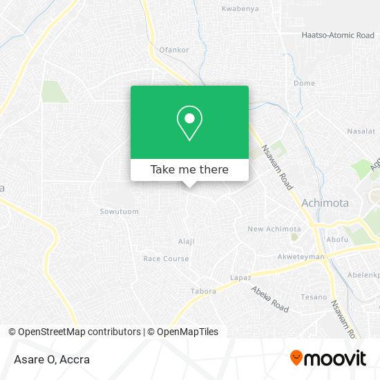 Asare O map