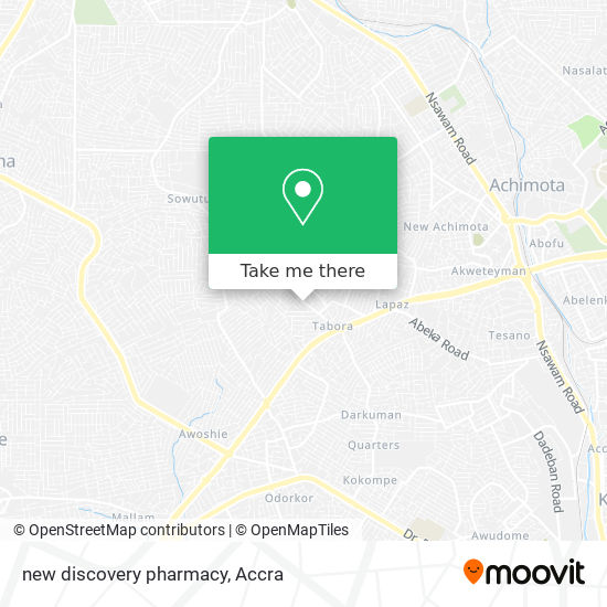 new discovery pharmacy map