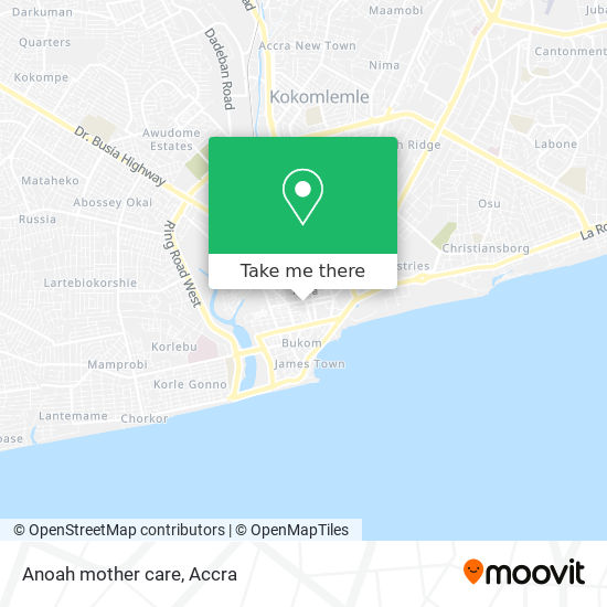 Anoah mother care map