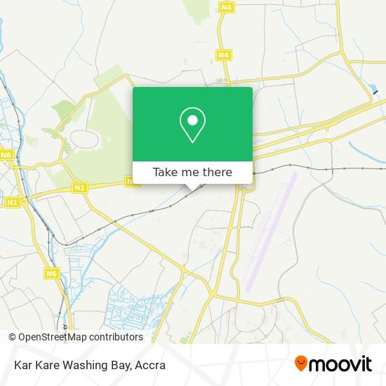 Kar Kare Washing Bay map