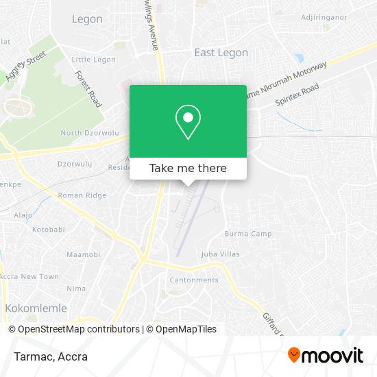 Tarmac map