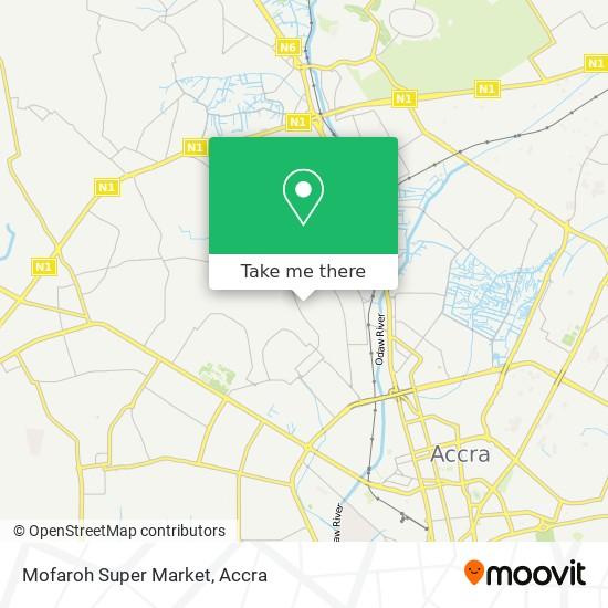 Mofaroh Super Market map