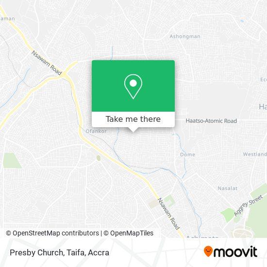Presby Church, Taifa map