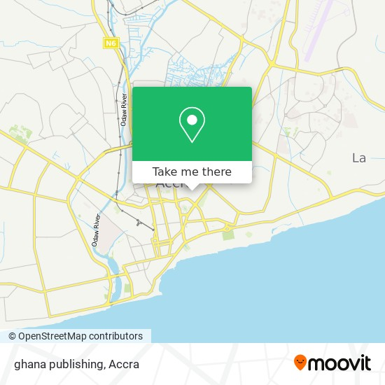 ghana publishing map