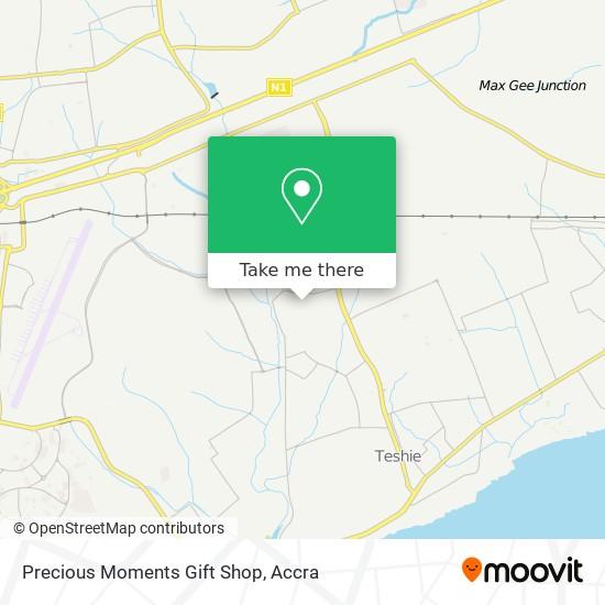 Precious Moments Gift Shop map