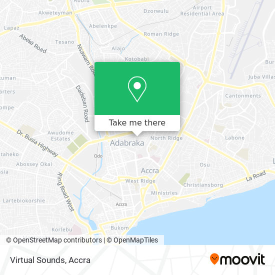 Virtual Sounds map