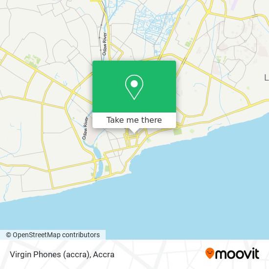Virgin Phones (accra) map