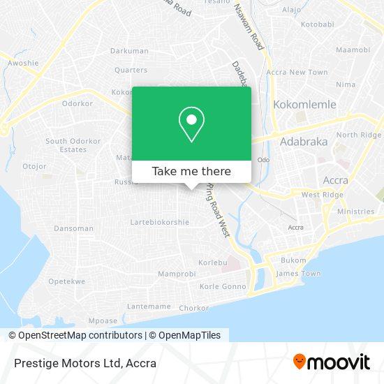 Prestige Motors Ltd map