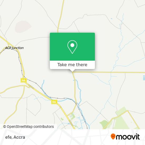 efe map