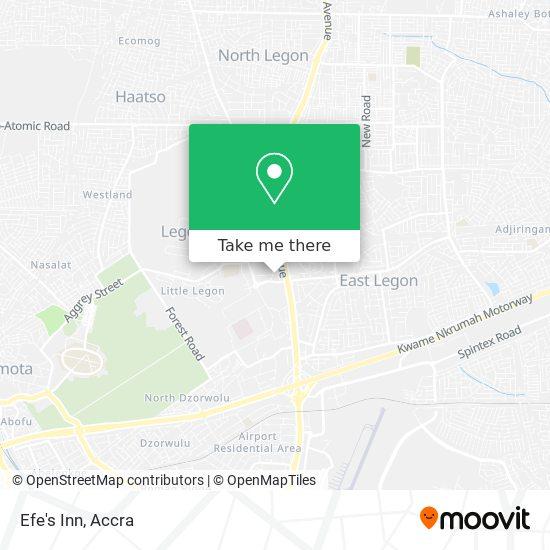 Efe's Inn map
