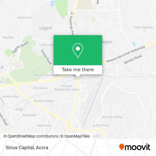 Sirius Capital map