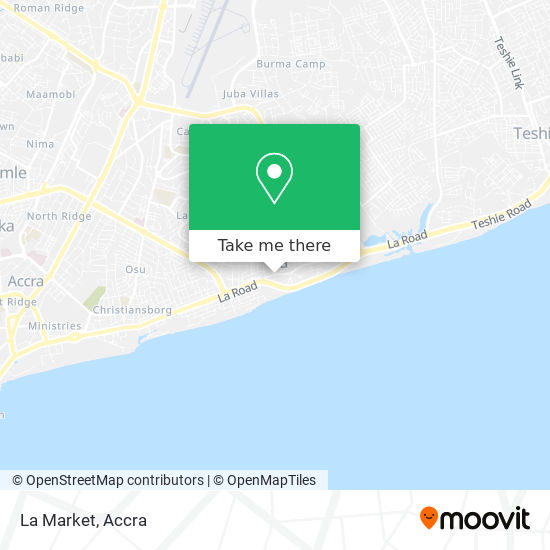 La Market map