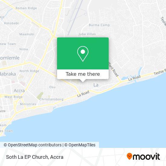 Soth La EP Church map