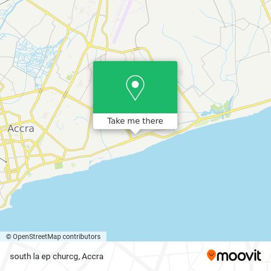 south la ep churcg map
