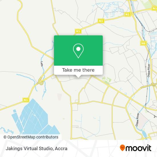 Jakings Virtual Studio map