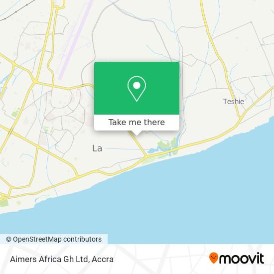 Aimers Africa Gh Ltd map