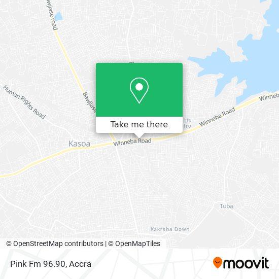 Pink Fm 96.90 map