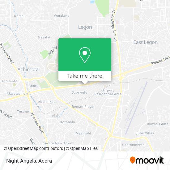 Night Angels map
