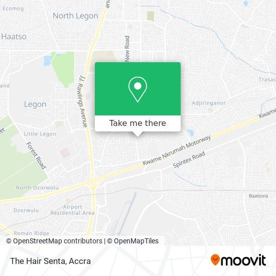 The Hair Senta map