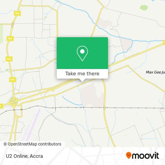 U2 Online map