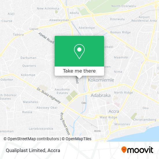 Qualiplast Limited map