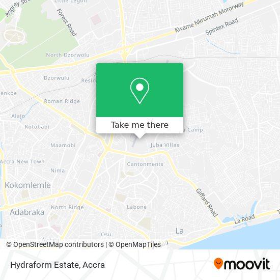 Hydraform Estate map