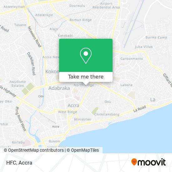HFC map
