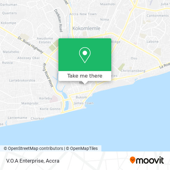 V.O.A Enterprise map