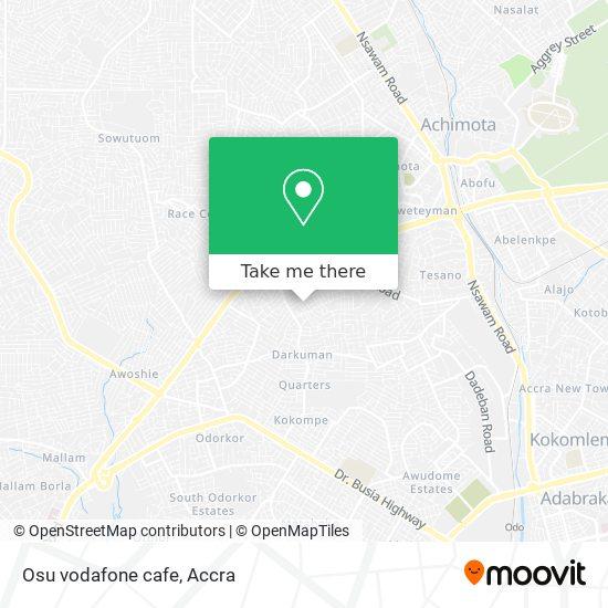 Osu vodafone cafe map