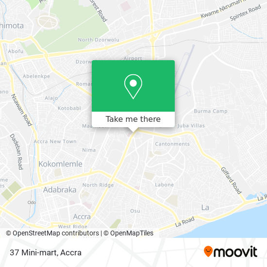 37 Mini-mart map