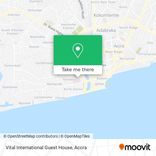 Vital International Guest House map