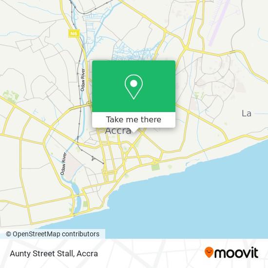Aunty Street Stall map