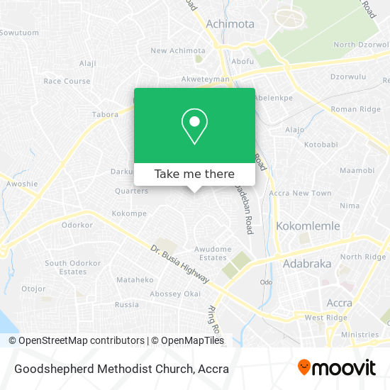 Goodshepherd Methodist Church map
