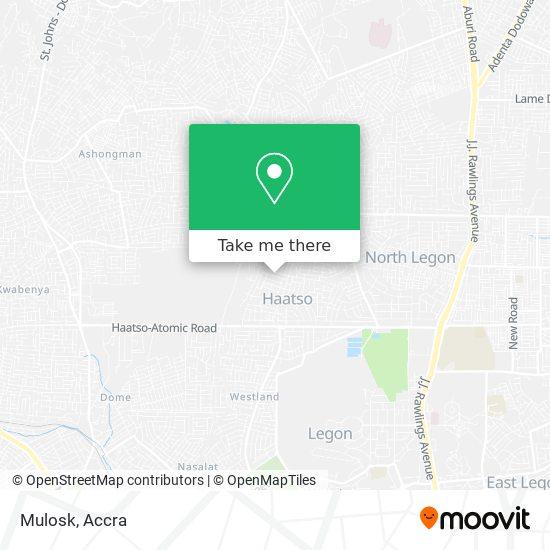 Mulosk map