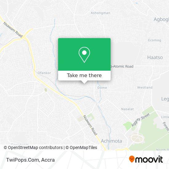 TwiPops.Com map