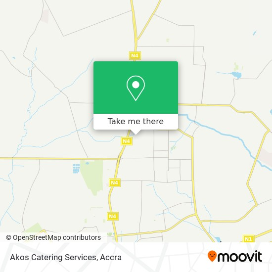 Akos Catering Services map