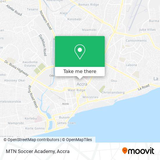 MTN Soccer Academy map