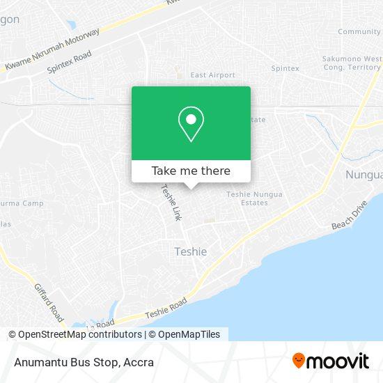 Anumantu Bus Stop map