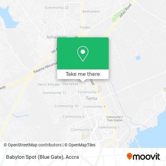 Babylon Spot (Blue Gate) map