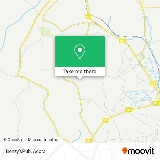 Benzy'sPub map
