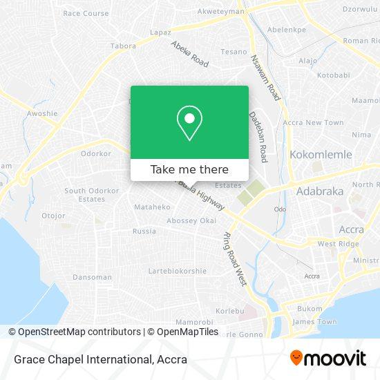 Grace Chapel International map